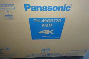 新品税込保証付未開封 パナソニック TH-49GR770 [VIERA(ビエラ) 49V型