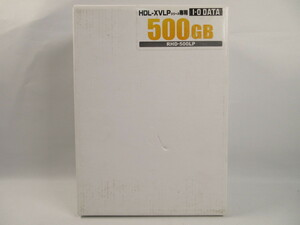 R79344R unopened I*O DATA RHD-500LP 500GB for exchange RelationalHD cartridge 2.5 -inch Drive installing 500GB HDL-XVLP series exclusive use I *o