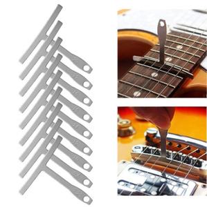 Mz2711:ギター 弦楽器製作者の Diy 固定ツールキット 9 半径ゲージ 32 ブレード 隙間ゲージギター修復 維持 ギターアクセサリー