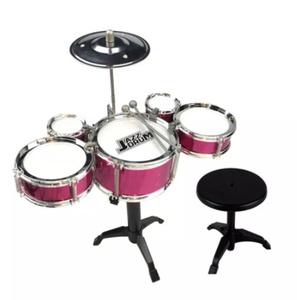 Mz613:キッズ ジャズドラムセット 楽器 ミニバンドプレイ おもちゃ スティック付き