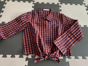 LOWRYS FARM 長袖シャツ レディース トップス ローリーズファーム チェック ファッション おしゃれ かわいい 秋 冬