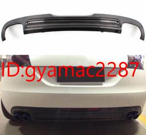 車 パーツ リアバンパー ディフューザー AUDI アウディ TT 8J 2008-2010年【ブラック】交換 リア エアロ カスタム おすすめ 外装
