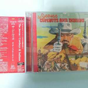 CD 廃盤帯付 初回限定DVD付★The Jeevas ザ・ジーヴァズ/Cowboys And Indians カウボーイズ&インディアンズ★Kula Shaker