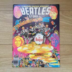 ビートルズ THE BEATLES STORY コミック 漫画 ビンテージ フルカラー 1970年代 レア アメコミ MARVEL
