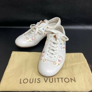 ◇綺麗◇ スニーカー 靴 シューズ ルイヴィトン マルチカラー 日本サイズ21.5cm