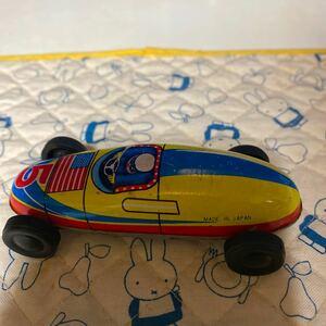 ブリキ  レースカー