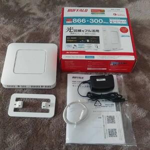 BUFFALO 無線LAN 親機 WSR-1166DHP3-WH  バッファロー  Wi-Fi  無線LAN
