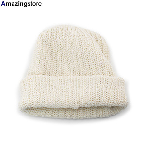 Made in U.S.A コロンビアニット コットンビーニー ナチュラル WATCH CAP BEANIE NATURAL COLUMBIA KNIT BLANK 無地 cy100-natural