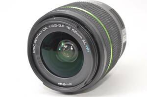 動作品 ペンタックス SMC PENTAX-DA 18-55mm F3.5-5.6 AL WR ♯9617
