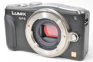 ジャンク扱い パナソニック Panasonic LUMIX DMC-GF6 ボディ ブラック 【001088】 ♯9712