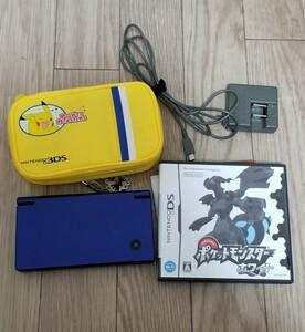 任天堂DSi. ポケモンケース ポケモンホワイトセット