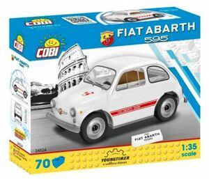 COBI ブロック ☆ 1/35スケール 自動車 ☆ フィアット アバルト 595 1965 / 1965 Fiat Abarth 595 ☆ 新品/未開封 ☆ EU製