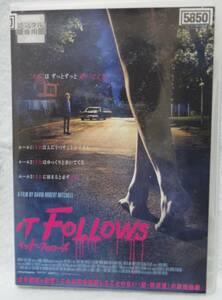 """イット・フォローズ★即決・送込・DVD★そして、""""それ""""に捕まったら必ず死が待っている。"""