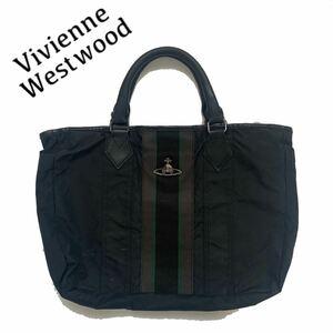 【送料無料】Vivienne Westwood ヴィヴィアンウエストウッド ビジネスバッグ ハンドバッグ オーブ ロゴ ライン