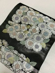 袋帯 大西織物 桜花薮 未仕立て