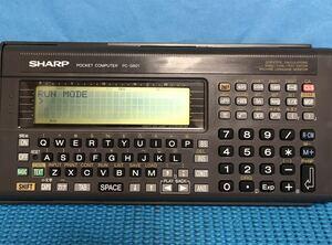 SHARP sharp карманный компьютер -PC-G801 рабочее состояние подтверждено