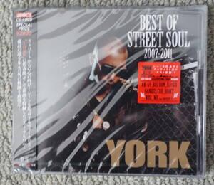 CD 送料無料 新品 YORK BEST OF STREET SOUL