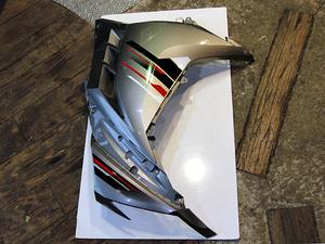 NINJA250 ABS EX250L ニンジャ250 純正サイドカウル サイドカバー 左 スペシャルエディション エボニー メタリックダストグレー