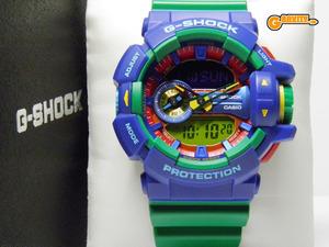 G-SHOCK 買取のGRAVITY◇GA-400-2A Hyper Colors(ハイパーカラーズ)ロータリースイッチモデル グリーンカラー CASIO/G-SHOCK