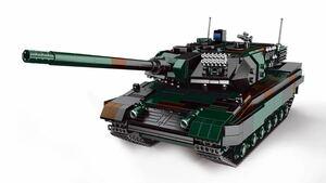 戦車 ミニフィグ レゴ 互換 LEGO 互換 テクニック フィギュア レオパルト2 A6