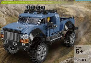 ピックアップトラック 貨物自動車 ミニフィグ レゴ 互換 LEGO 互換 テクニック フィギュア