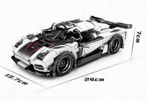 スーパーカー スポーツカー ミニフィグ レゴ 互換 LEGO 互換 テクニック フィギュア