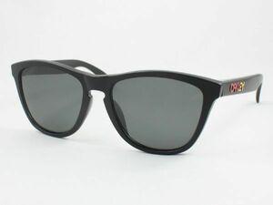 レンズ組換品 オークリー 偏光サングラス OO9245-78-GRP12 フロッグスキン 日本製レンズ マットブラック OAKLEY FROGSKINS 偏光レンズ