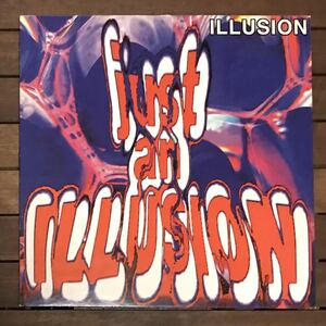 ●【r&b rap】Illusion / Just An Illusion[12inch]オリジナル盤《9595》