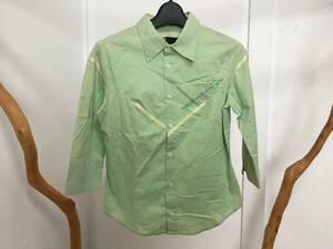 良品!DIESEL ディーゼル 七分袖ストレッチ長袖シャツ サイズS 送料レターパックライト