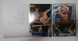 鬼滅の刃★映画、無限列車編★クリアビジュアルポスター★嘴平伊之助(はしびら・いのすけ)★2枚