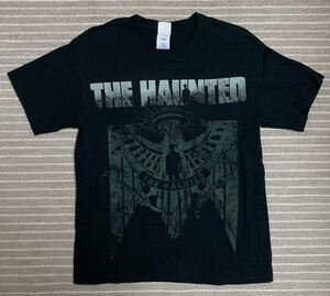 THE HAUNTED オフィシャルTシャツ XSサイズ 2015年来日公演 ザ・ホーンテッド バンドTシャツ CUTTING TEETH GRINDING DEEP ツアー
