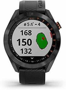 ^*0 черный GARMIN( Garmin ) Golf navi GPS Approach S40 [ Япония стандартный товар ]