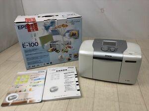 k497 1円~ EPSON エプソン カラリオ COLORIO me E-100 写真プリンタ 《同梱不可》