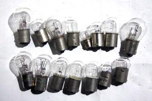 6V電球15個 検ホンダスポカブC110C111C115C100C200CS90CL90C92CB125DAXヤマハYGS1AT90スズキRGカワサキトーハツBSチャンピオンランペットCA
