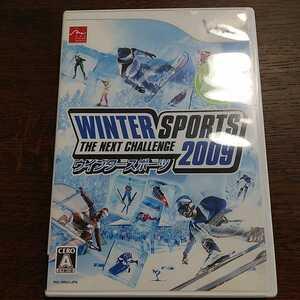 Wii ウインター スポーツ 2009 WINTER SPORTS THE NEXT CHALLENGE スケート スキー 中古 動作確認済 オリンピック