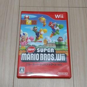 本日限定価格 ニュースーパーマリオブラザーズWii   Wiiソフト