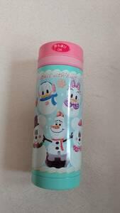 ディズニー 水筒 未使用 クリスマス ミッキー ミニー ドナルド デイジー オラフ