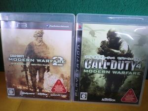 PS3ソフト コール・オブ・デューティ モダン・ウォーフェア2 /コール・オブ・デューティ4 モダン・ウォーフェア