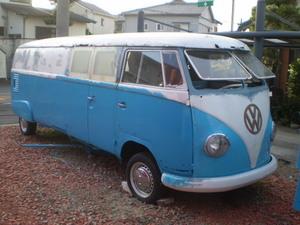 1962Yeas VW Bus Limo Junk。空冷VW フォルクスワーゲン タイプ2リムジン。ジャンクレストアベース。