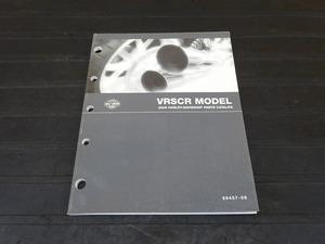 【000A】■ 2006 ハーレー VRSCRモデル パーツカタログ VRSCR MODELS HARLEY-DAVIDSON PARTS CATALOG