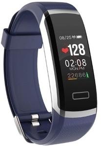 【送料無料】スマートウォッチ スマートブレスレット BLUE 日本語対応 健康管理 睡眠 カロリー 心拍数 iphone/ xq0142
