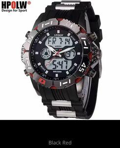 海外メーカー アナログメンズ&デジタル メンズスポーツ クオーツ 腕時計クォーツ アナデジ LED 防水 スポーツウォッチ xq1444