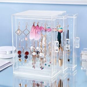 ◆最安にします◆ アクセサリー ケース 透明 ピアス イヤリング ネックレス ペンダント ボックス 箱 整理 インテリア 飾り 収納 AT11177