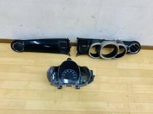 HONDA ホンダ NBOX NBOXカスタム/JF1 JF2 ホンダ 4WD 純正 インパネ 3点セット メーターパネル・スピードメーター・助手席側インパネ