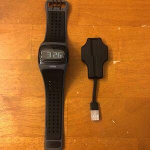 mio ALPHA Bluetooth.. total attaching wristwatch rhinoceros navy blue watch cycle watch smart watch