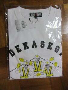 新品 Tシャツ スカルトイズ・デカセギロード柄・Mサイズ(ドクロ骸骨警備員パチ怪獣ソフビメーカー