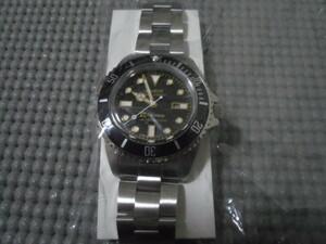 VAGUE WATCH Co. × Subciety Diver's Son ヴァーグウォッチカンパニー サブサエティ コラボ 別注 腕時計 ダイバーズウオッチ 新品