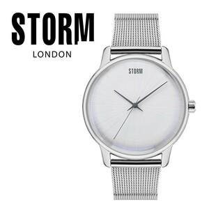 【正規販売店】STORM LONDON(ストームロンドン)SOLAREX 時計 腕時計 47403S ホワイト メンズ