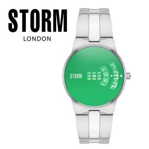 【正規販売店】STORM LONDON(ストームロンドン)NEW REMI 時計 腕時計 47210G グリーン メンズ