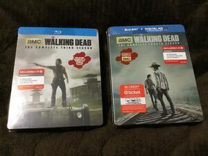 ウォーキングデッド シーズン3-6 Blu-ray スチールブック THE WALKING DEAD